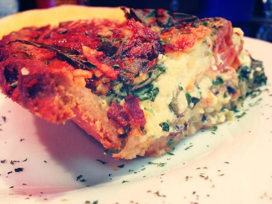 Mike's Cafe & Grille: Veggie Quiche