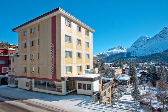 Sorell Hotel Asora: Aussenansicht Winter