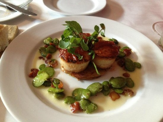 Black Cat Bistro: Scallops