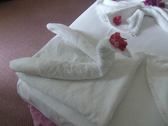 Hotel Pelin: Lovely beds