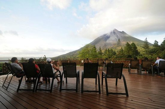 Arenal Observatory Lodge & Spa: Volcano View Point from Arenal Observatory Lodge
