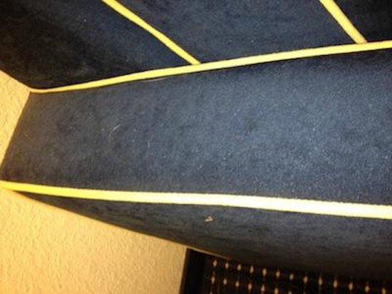 Hampton Inn & Suites Orlando-Apopka: Dirty Sofa