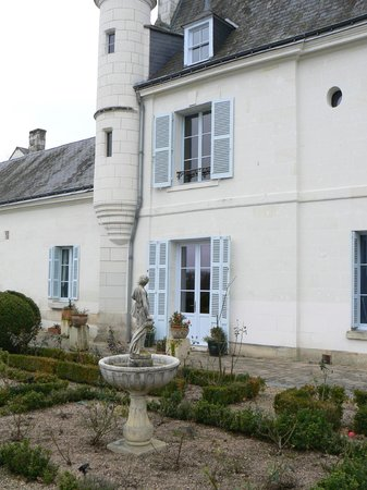 La Maison de l'Argentier du Roy: Our rooms from the garden.