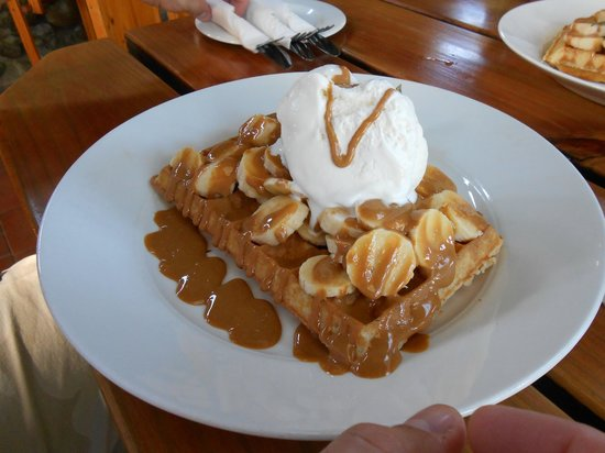 The Waffle House: BaNoFee Waffle (Sweet)