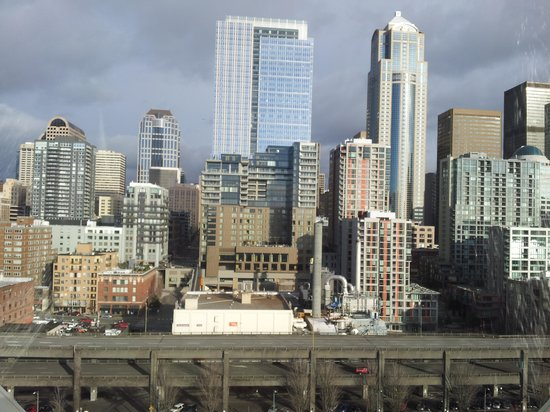 Loews Hotel 1000, Seattle: View from Seattle ferris wheel!