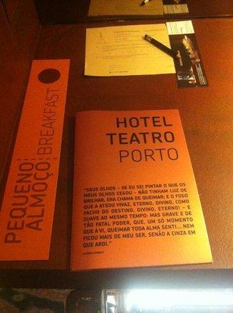 Hotel Teatro Porto: detalhes do quarto 607
