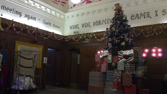 Clink78: Entrance Hall / Xmas Tree