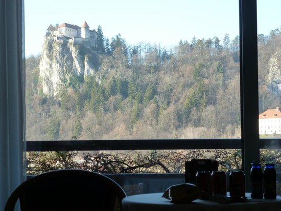 Park Hotel Bled: View from our room