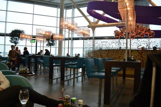 Bubbles Seafood & Winebar : Mooiste plekje van Schiphol