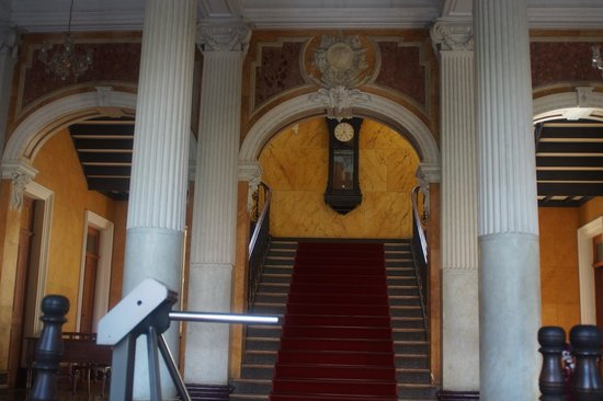 Palacio da Justica entrance stairs