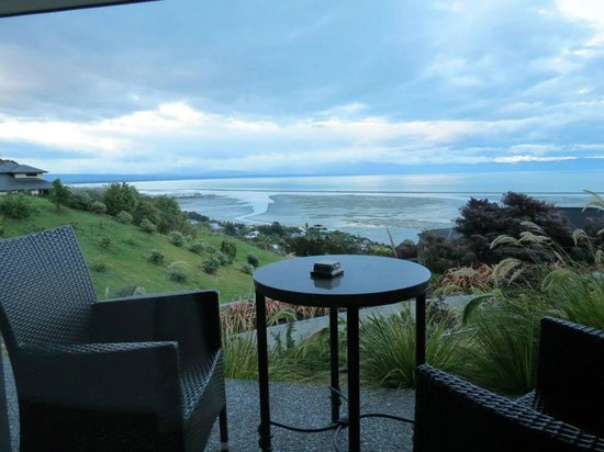 A Culinary Experience Luxury B and B: View from the private porch