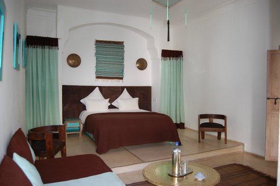 Riad Anyssates: notre chambre