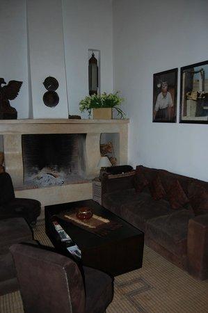 Riad Anyssates: salon
