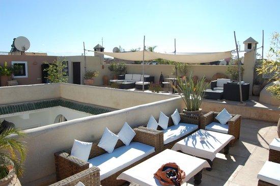 Riad Anyssates: terrasse