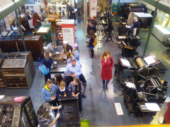 National Print Museum : Demonstration day