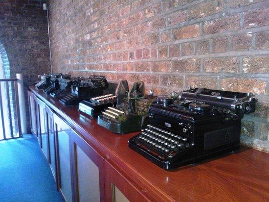 National Print Museum: Impressive display pf old typewriters!
