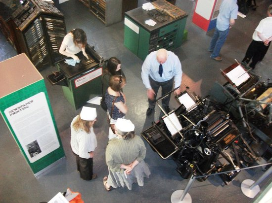 Demonstration Day at the National Print Museum