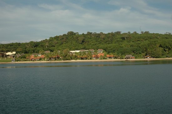 Chen Sea Resort & Spa Phu Quoc: view of property from ocean