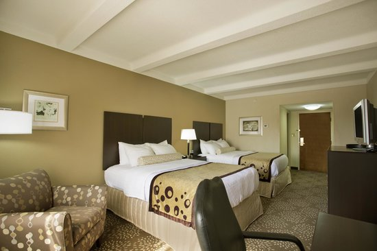 Best Western Plus Madison-Huntsville Hotel : Two Queen Bed Room