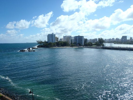 Condado Lagoon Villas at Caribe Hilton: View from room