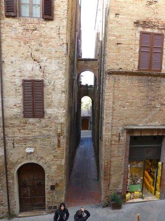 Hotel L'Antico Pozzo: VIEW FROM ROOM