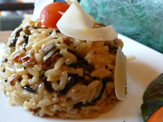 Le Beaulieu : basmati and wild rice with cheese