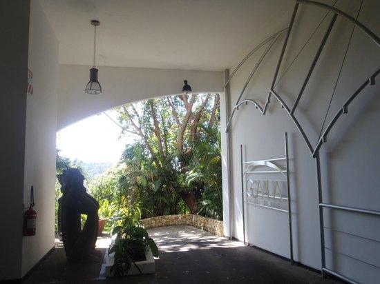 Gaia Hotel & Reserve: entrance