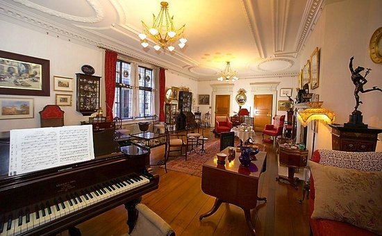Dunedin, Nova Zelândia: The Drawing Room