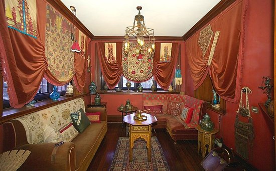 Olveston Historic Home: The Card (or Persian) Room