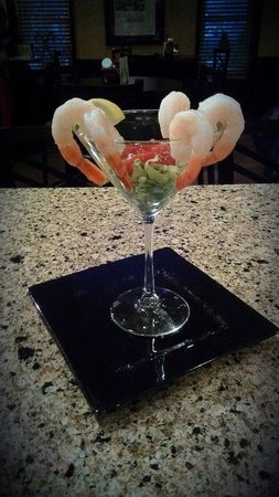 The Creek Grill: Shrimp Cocktail!