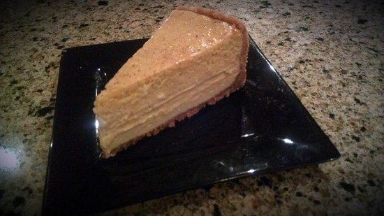 The Creek Grill: Homemade Pumpkin Cheesecake!
