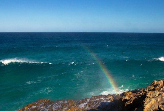 North Gorge Walk: Rainbow at the Clifftops