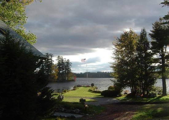 Kezar Lake: View from The Condominium at Severance Lodge