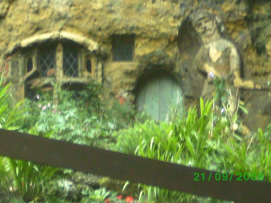 Mother Shipton S Cave And The Petrifying Well House In Rock