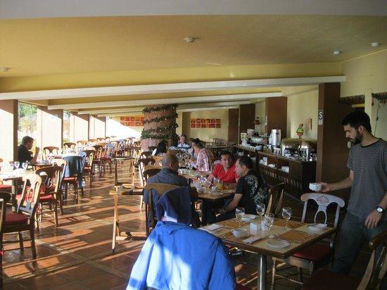 Sonesta Posadas del Inca Lake Titicaca Puno: Comedor