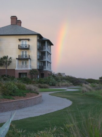 The Sanctuary at Kiawah Island Golf Resort: rainbow