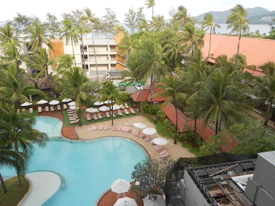 Patong Beach Hotel: VIEW FROM ROOM FLOOR 10