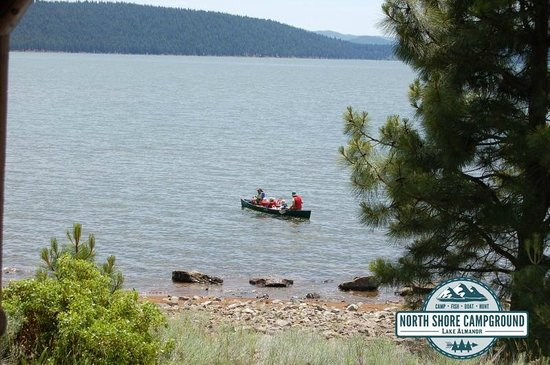 North Shore Campground: This could be your view from one of our RV Sites in Lake Almanor - Chester