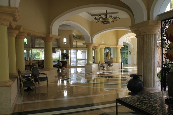 Iberostar Grand Hotel Bavaro: Part of the luxurious lobby area