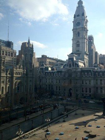 Le Meridien Philadelphia: view from room 839