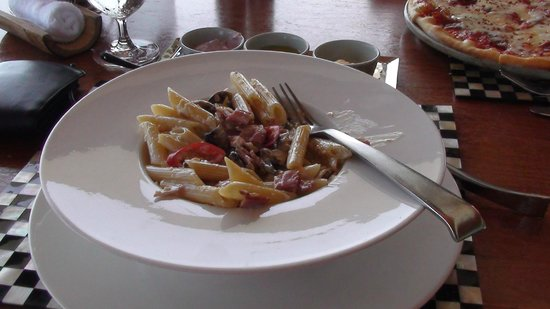 Anantara Dhigu Maldives Resort: yummy pasta from Terrazo
