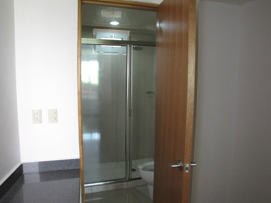 Suites Gaby Hotel: Shower