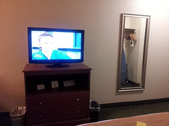 Best Western East Brunswick Inn: flat screen tv and microwave n fridge too!