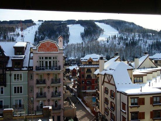 Landmark Condominiums: View of the snow fields 