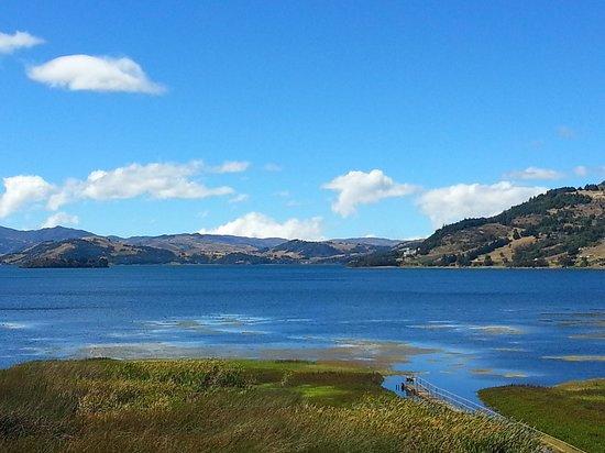 Hotel Decameron Camino Real: Vista del lago desde el hotel