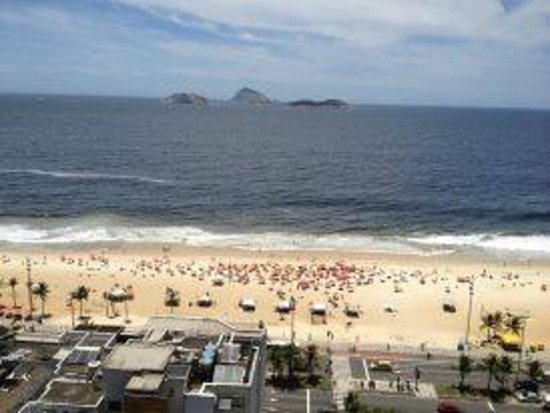 Golden Tulip Ipanema Plaza: view of the beach