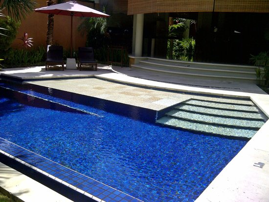 The Kunja Villas & Spa: the large pool