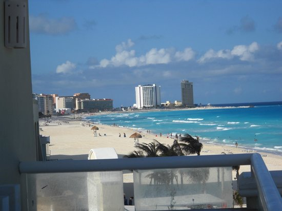 Panama Jack Resorts - Gran Caribe Cancun: view from room 2710