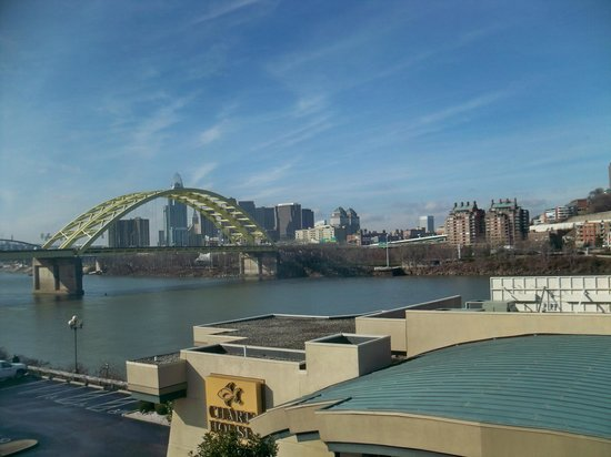 Comfort Suites: Cincinnati from room.
