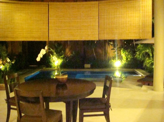The Kunja Villas & Spa: night view